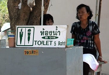 Thailand toilets costs