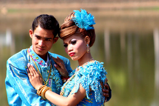 Khmer Bride and Groom