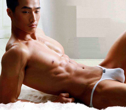 asian male bulge