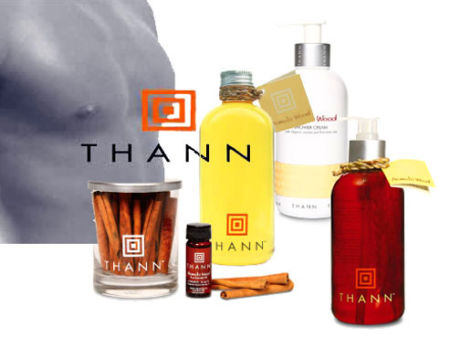 Thann's Aromatic Wood line.