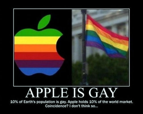 apple is gay