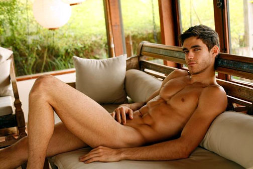 hot naked guy