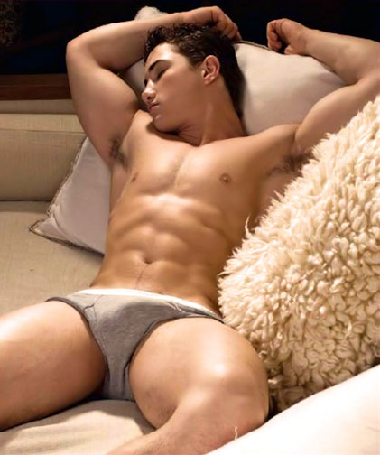 hot dude in underwear