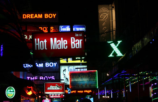 Bangkok gay go go bars