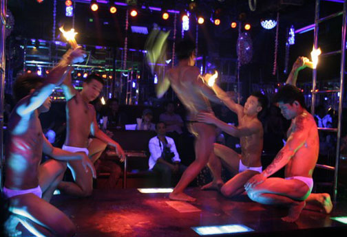 Bangkok gay gogo bar