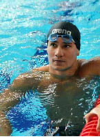 Marcus Titus Swims To A Different Beat