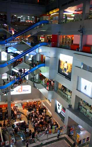 MBk offers seven floors of shopping and entertainment.