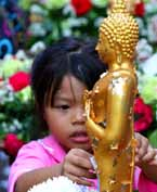 Bonus Shot: Wat Pho Gold-Leaf Kid