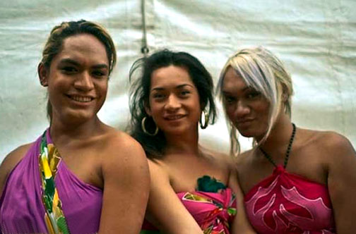 Like in Thailand, ladyboys are part of Samoan culture. They just don't pull it off as well.
