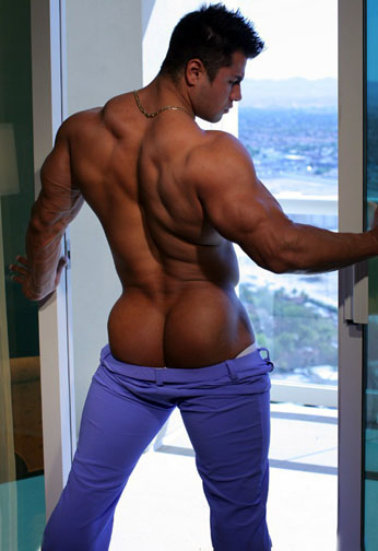 naked asian male muscle