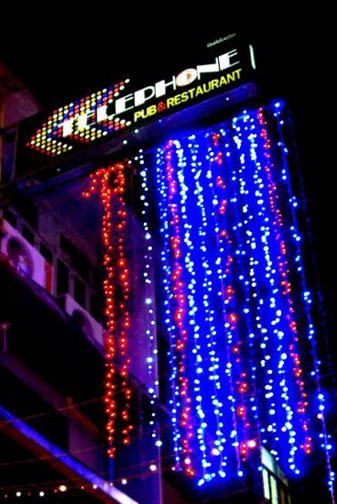The Telephone Bar is a Bangkok landmark and one of the city's sights you need to experience.