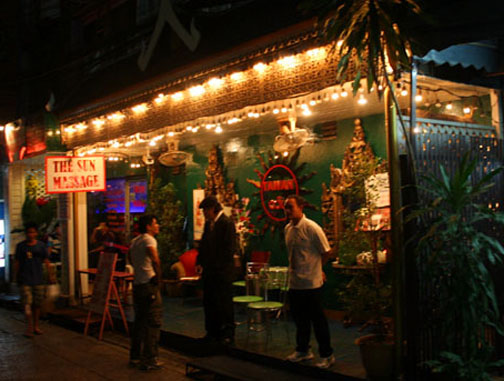 Tawan is one of Bangkok's oldest gay gogo bars and home to a stable of muscle studs.