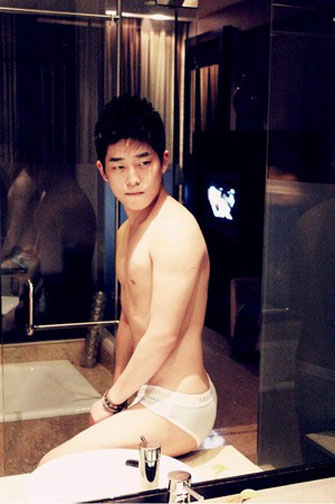 asian underwear guy