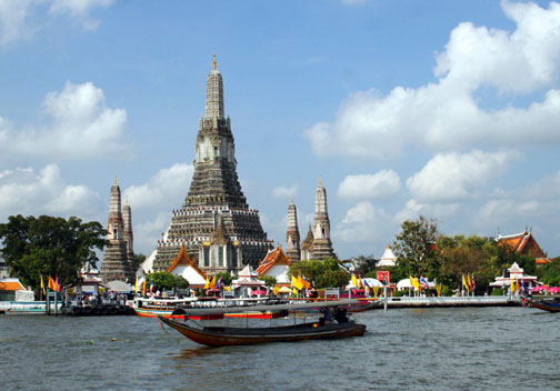 This is Wat Arun. You've now seen it and can check it off your list.