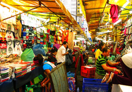 Besides the bars, Patpong's Night Market is a draw for the area too.