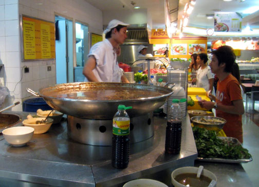 MBK's food court is both an experience and a gastronomical treat.