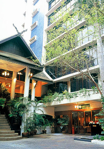 Tarntawan Place Hotel is Bangkok's premier Gay Hotel. Just remember that rainbows don't come cheap.