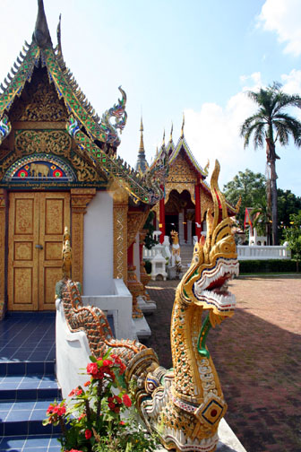 Small, but colorful, Wat Panping doesn't get lots of press but is worth a visit when in Chiang Mai.