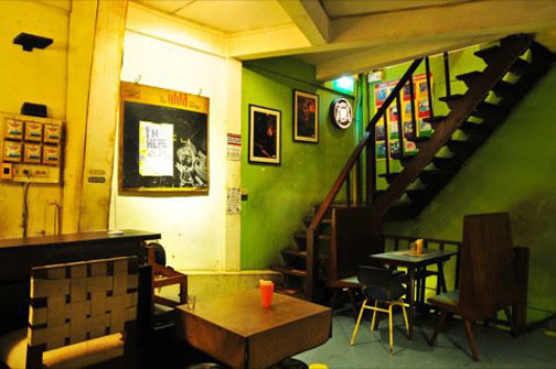 Hectic, eclectic, and colorful, each floor at the Phranakorn Bar is a world unto itself.