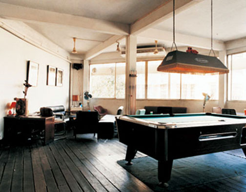 A clean, well-lit place to shoot a game of pool . . . what more could you ask for?