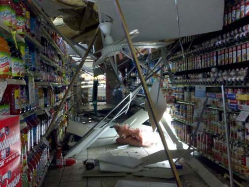 The odds are you are more likely to die from a grocery store's roof collapsing on you than from flying. Happy shopping!