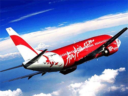 Ever notice how AirAsia's promotional shots of their planes always seem to be mooning you?