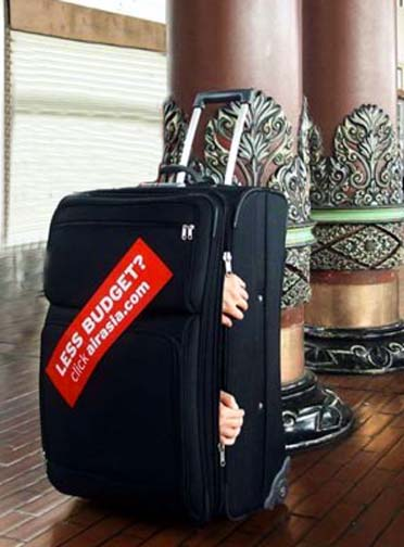 AirAsia is a great airline to fly when you want to be treated like a piece of luggage.