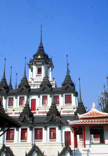 Wat Ratchanadda is one of Bangkok's more recognizable landmarks.