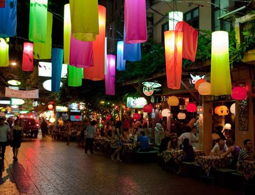 Soi Rambuttri is what Khaosan Road was 20 years ago and a great place to spend hours accomplishing nada.