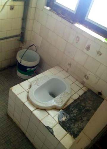 The cost of using a squat toilet in Thailand: 5 baht (and your dignity).