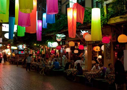 Soi Rambuttri  is what Khaosan Road was once supposed to be.