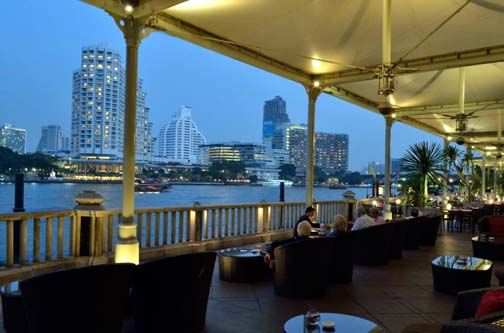 The Peninsula's rooftop bar is one of the city's best places to kick back and watch the sun set.