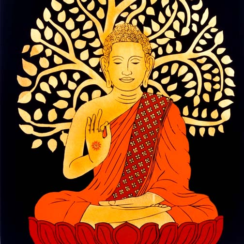 One day the Buddha sat under a bodhi tree and the rest is history.
