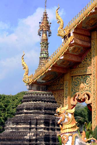Wat Chetawan in Chiang Mai is a perfect example of how a temple's mundane looks can be deceiving.