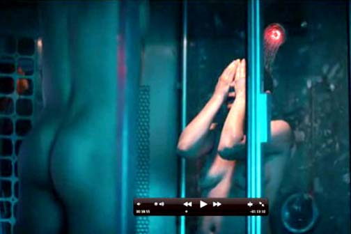 Ryan Gosling's naked ass isn't in Only God Forgives either, but purportedly did have a role in Blue Valentine.