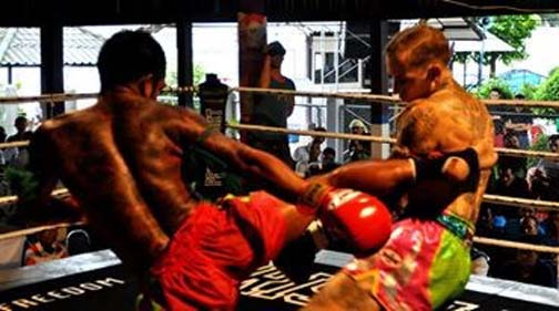 In Prison Fight, Thai convicts take on farang MMA fighters. To date, the Thais have won the majority of bouts.