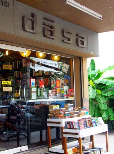 Dasa's claims to be the best secondhand book shop in Bangkok. And they're right.
