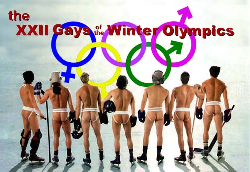 The XXII Gays of The Winter Olympics