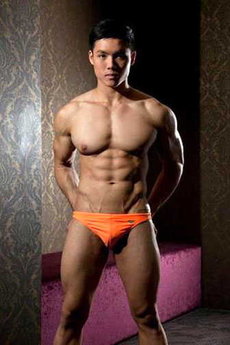 nude asian muscle