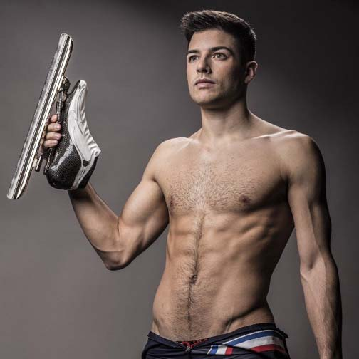 France's Benjamin Macé shows what an Olympian is made of.