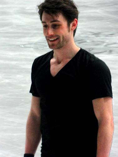 The oldest competitor in the men's figure skating events at Sochi, Joubert  is still quite the hunk. But not in a gay way, of course.