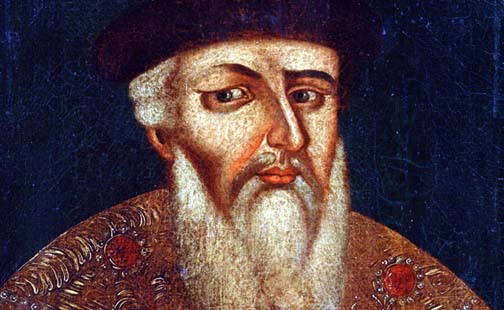 Just in case you ever wondered where the term 'beard' came from, this is Ivan The Terrible, a gay Russian ruler who had a terrible yearning for ladyboys.
