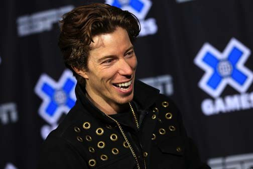Two-time gold Olympic medalist snowboarder Shaun White may win the gold in Sochi for ugliest lesbian competitor, though Jason Brown will give him a good run for that title.