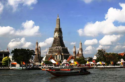 Wat Arun is one of Bangkok's most iconic images. This is as close as you should ever get.