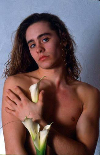 This modeling photo from Jared Leto's high school days shows he knew he was always destined to play a ladyboy.