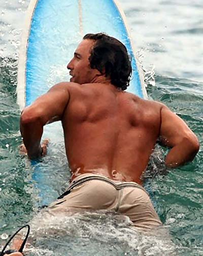 Matthew McConaughey's ass deservs an Olympic Gold medal, but will have to settle for an Oscar this year.