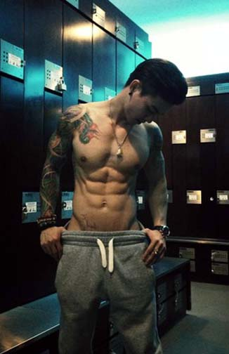 To some, an on-site gym is a must at their hotel. For others a nearby gym filled with hot guys is enough.