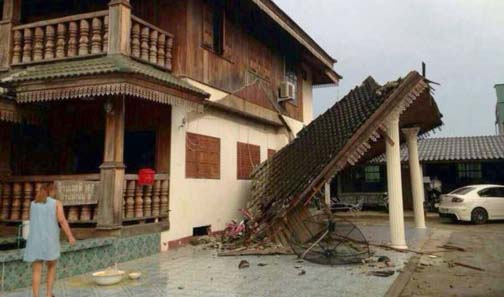 Earthquakes in Thailand can be almost as damaging as Thai construction standards.