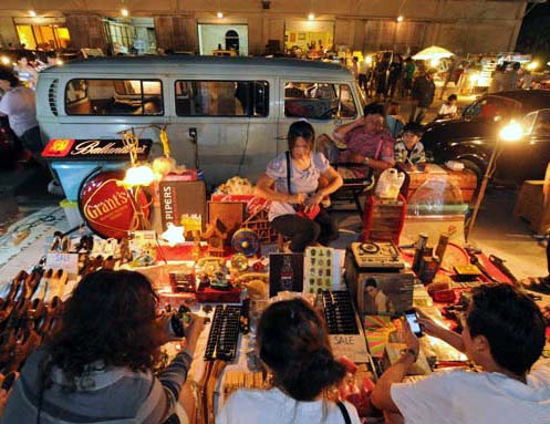 Bangkok's Train Night Market is where the cool kids go to shop.