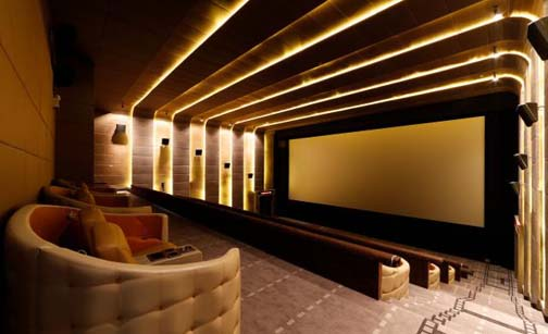 The surround sound home movie theater experience comes to Bangkok at a mere $30 per showing.